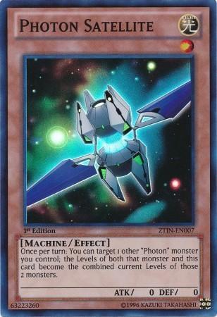 Photon Satellite - ZTIN-EN007 - Super Rare - 1st Edition