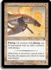 Armored Pegasus (Flavor Text + Reminder Text) on Channel Fireball