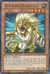 Heraldic Beast Leo - CBLZ-EN017 - Rare - Unlimited Edition