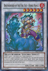 Brotherhood of the Fire Fist - Horse Prince - CBLZ-EN097 - Super Rare - Unlimited Edition