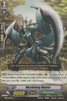 Machining Mantis - EB01/029EN - C