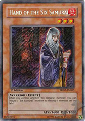 Hand of the Six Samurai - TDGS-EN085 - Secret Rare - 1st Edition