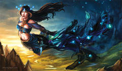 Artists of Magic Playmat - Nyx Greek Goddess