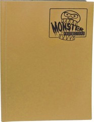 Monster Protectors 9 Pocket Matte Gold Binder