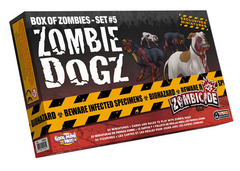 Zombicide: Box of Zombies Set #5 - Zombie Dogz