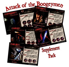Last Night on Earth 'Attack of the Boogeymen' Supplement (fan expansion for Last Night on Earth)
