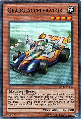 Geargiaccelerator - AP02-EN005 - Super Rare - Unlimited