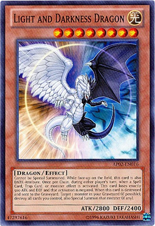 Light and Darkness Dragon - AP02-EN016 - Common - Unlimited