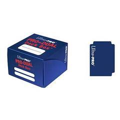 Blue PRO - Dual Deck Box (Ultra Pro)