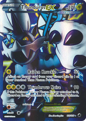 Thundurus-EX - 110/116 - Full Art
