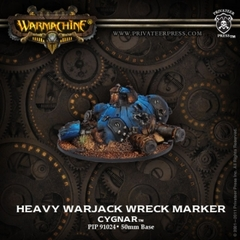 Cygnar Heavy Warjack Wreck Marker