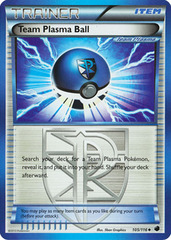 Team Plasma Ball - 105/116 - Uncommon - Reverse Holo