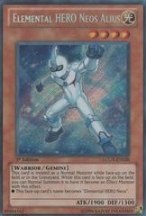 Elemental HERO Neos Alius - LCGX-EN028 - Secret Rare - Unlimited Edition