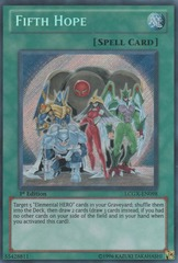 Fifth Hope - LCGX-EN098 - Secret Rare - Unlimited Edition