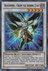 Blackwing - Gram the Shining Star - YF04-EN001 - Ultra Rare - Limited Edition