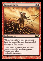 Burning Earth - Foil