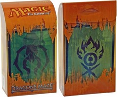 Dragon's Maze Prerelease Kit - Golgari/Gruul