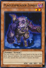 Plaguespreader Zombie - BP02-EN071 - Common - 1st