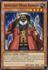 Anarchist Monk Ranshin - BP02-EN092 - Common - 1st