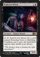 Bogbrew Witch - Foil on Channel Fireball