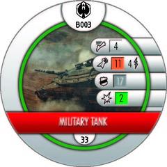 Military Tank (B103)