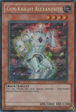 Gem-Knight Alexandrite - HA05-EN004 - Secret Rare - Unlimited Edition