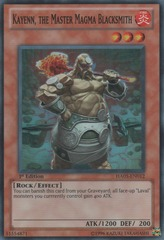 Kayenn, the Master Magma Blacksmith - HA05-EN012 - Super Rare - Unlimited Edition