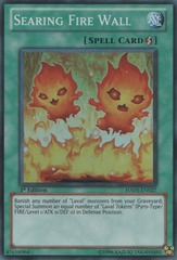 Searing Fire Wall - HA05-EN027 - Super Rare - Unlimited Edition