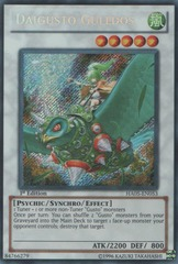 Daigusto Gulldos - HA05-EN053 - Secret Rare - Unlimited Edition on Channel Fireball
