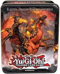 2013 Blaster, Dragon Ruler of Infernos Collectors Tin on Channel Fireball
