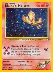 Blaine's Moltres - 1/132 - Holo Rare - Unlimited Edition