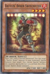 Battlin' Boxer Switchitter - LTGY-EN019 - Common - Unlimited Edition on Channel Fireball