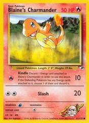 Blaine's Charmander - 61/132 - Common - Unlimited Edition