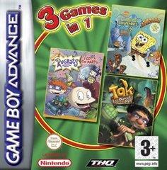 SpongeBob SquarePants - Tak and the Power of Juju - Rugrats: I Gotta Go Party