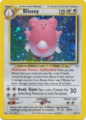 Blissey - 2/64 - Holo Rare - Unlimited Edition