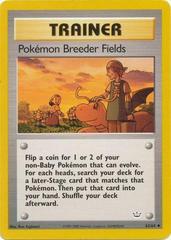 Pokemon Breeder Fields - 62/64 - Uncommon - Unlimited Edition