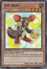 Aye-Iron - HA07-EN036 - Super Rare - Unlimited Edition on Channel Fireball