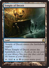 Temple of Deceit - Foil
