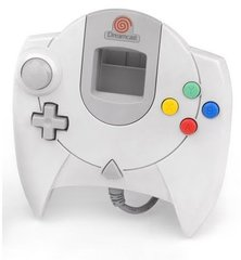 Accessory: Dreamcast Controller 1st Party White