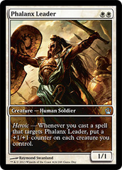 Phalanx Leader (Theros Gameday) on Channel Fireball