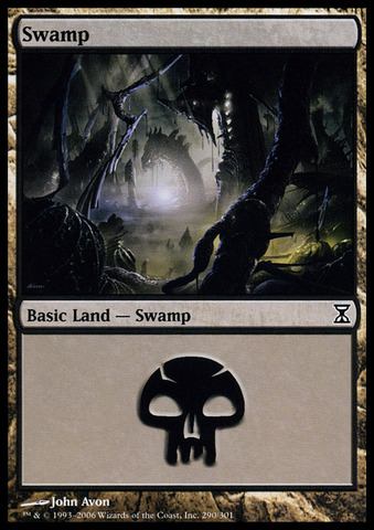 Swamp (290) - Foil