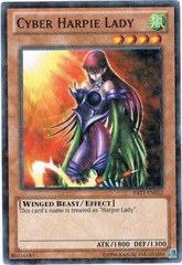 Cyber Harpie Lady - BATT-EN012 - Starfoil Rare - Unlimited Edition