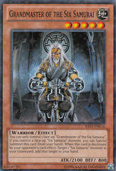 Grandmaster of the Six Samurai - BATT-EN016 - Starfoil Rare - Unlimited Edition
