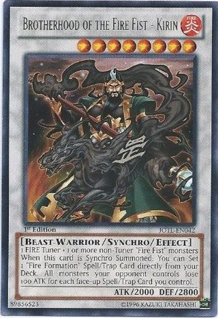 Brotherhood of the Fire Fist - Kirin - JOTL-EN042 - Rare - Unlimited Edition