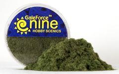 Hobby Round: Dark Green Static Grass