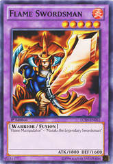 Flame Swordsman - LCJW-EN053 - Common - 1st Edition