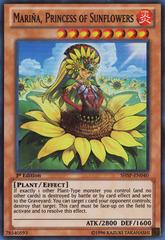 Mariña, Princess of Sunflowers - SHSP-EN040 - Super Rare - 1st Edition