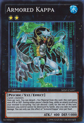 Armored Kappa - SHSP-EN097 - Super Rare - 1st Edition on Channel Fireball