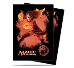 Mana 4 Planeswalker - Chandra Standard Deck Protectors for Magic 80ct