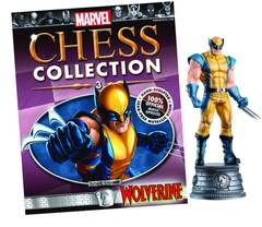 Marvel Chess Fig Coll Mag #3 Wolverine White Knight (C: 0 1